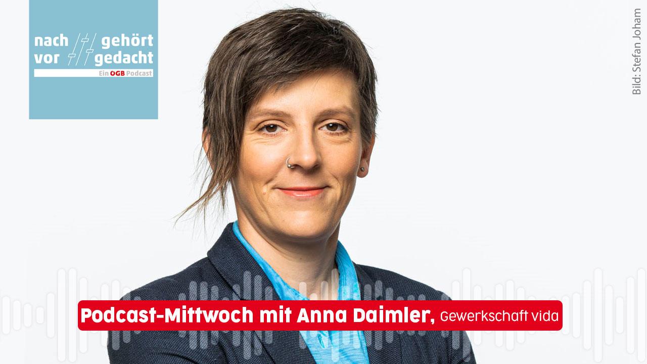 Anna Daimler zu Gast in Nachgehört / Vorgedacht