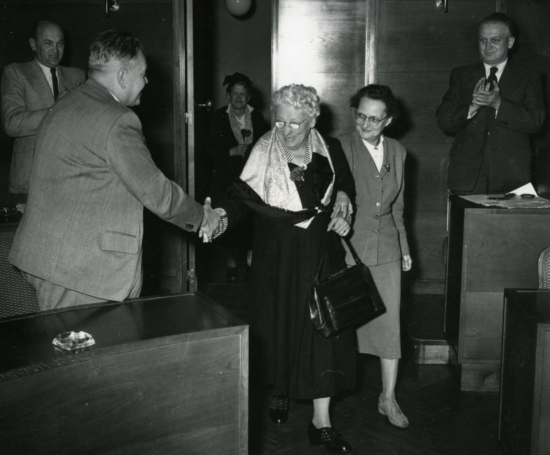 Anna Boschek und Wilhelmine Moik